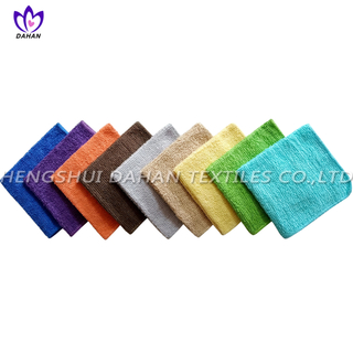 424BH 100%cotton plain colour wash cloths, kitchen towel,3pack.