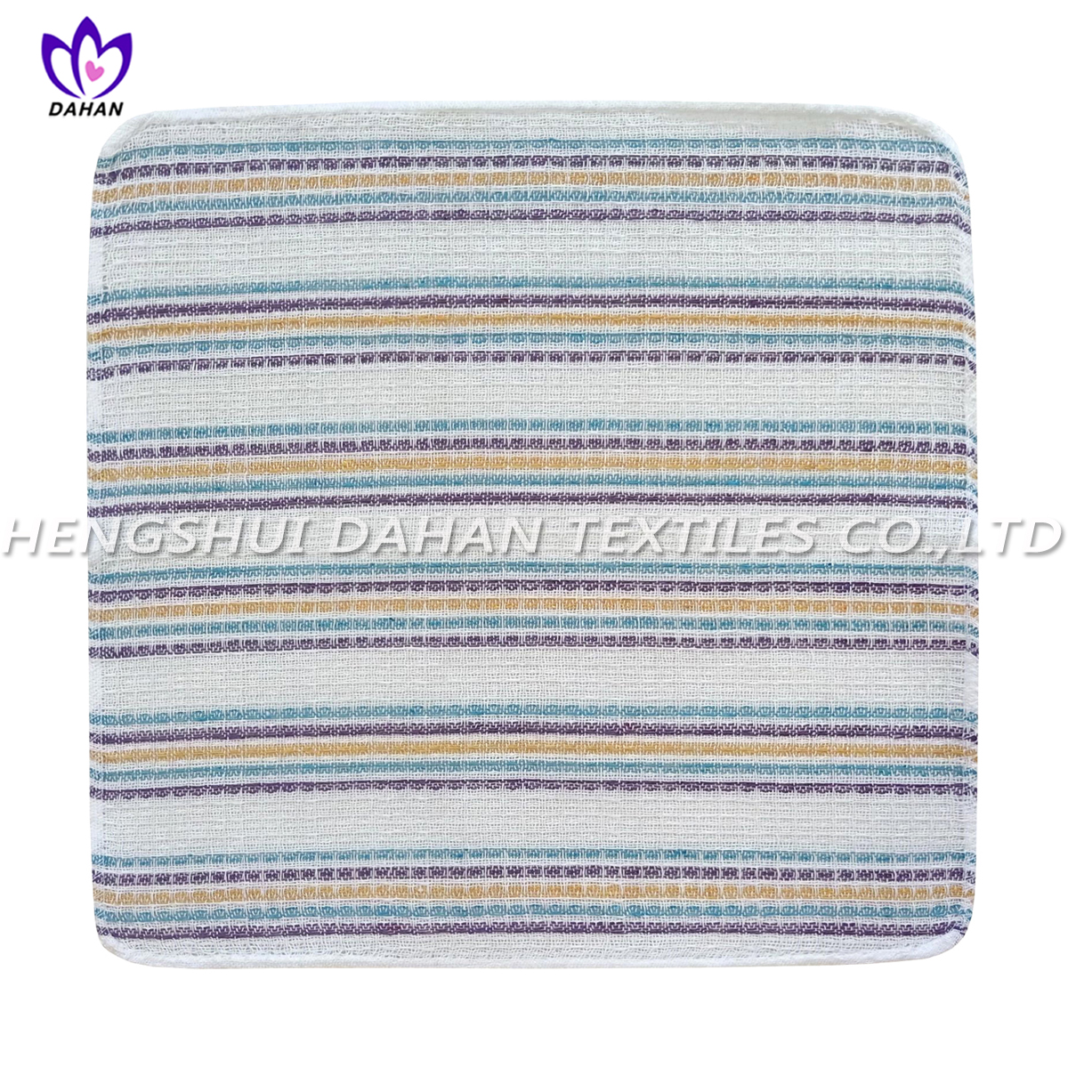 212VW polycotton yarn dyed tea towel,dish cloths,12pack.