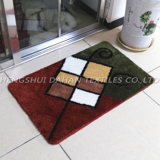 Acrylic jacquard ground mat. FC-301