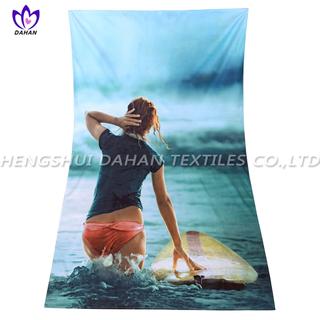 MS22 microfiber printing suede towel.