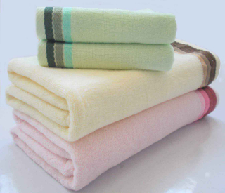 100%cotton jacquard bath towel face towel set CT03