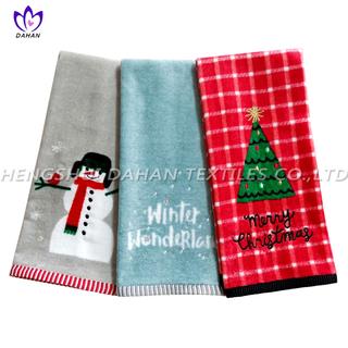 CT57 Printing cotton towel-christmas series.