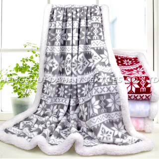 MT26 Christmas Series Printed Flannel Blanket.