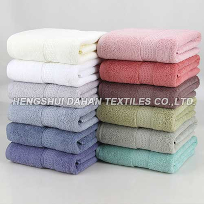 100%cotton solid color dobby terry towel CT02