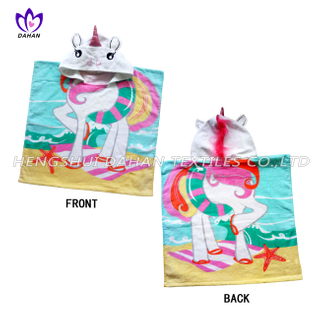LL60 100%Cotton reactive printing beach towel, cloak