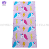 LL93 100%cotton reactive printing beach towel