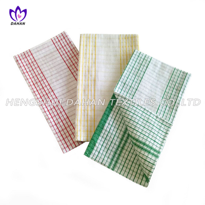 100% cotton yarn dyed tea towel