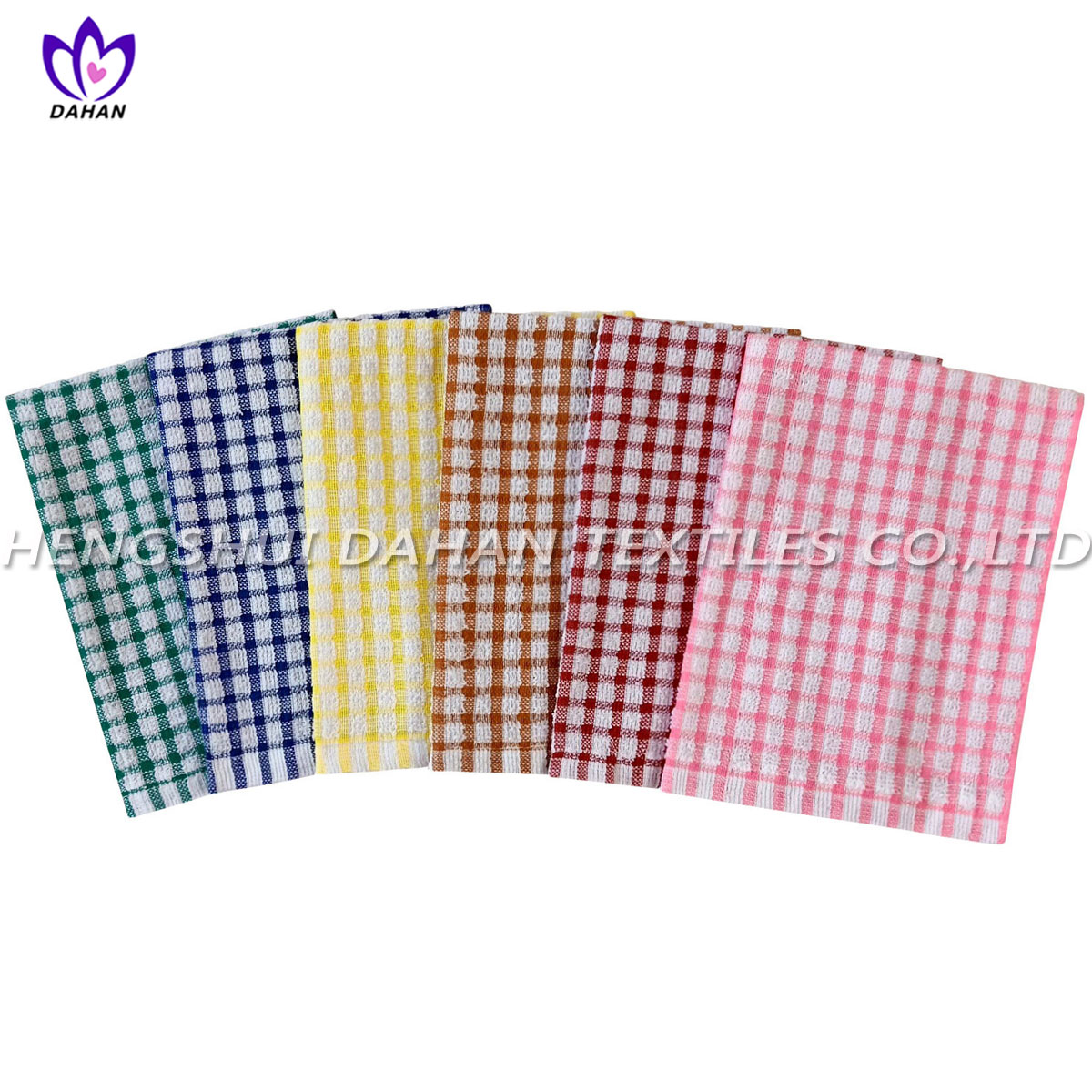 CT47 100%cotton yarn dyed kitchen towel.