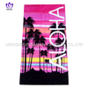 LL22 100%cotton reactive printing beach towel