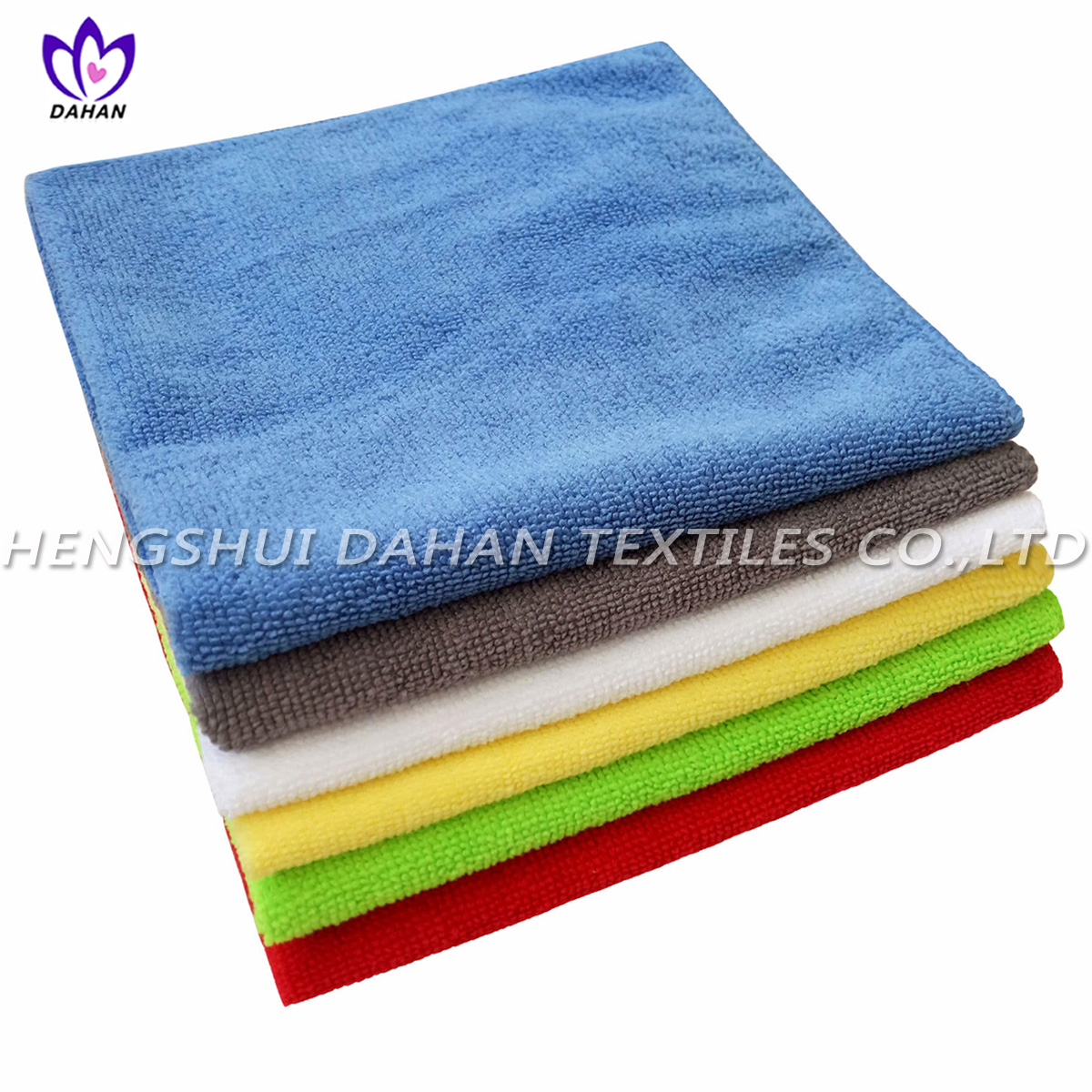 MC52 colorful microfiber cleaning towel