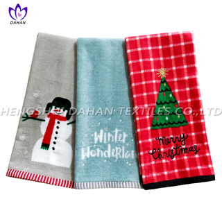 CT57 Printing cotton towel-christmas series.