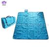 Fleece picnic blanket waterproof picnic mat with printing.PC02
