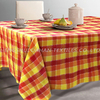 TP01~04 polycotton yarn dyed grid table cloth.