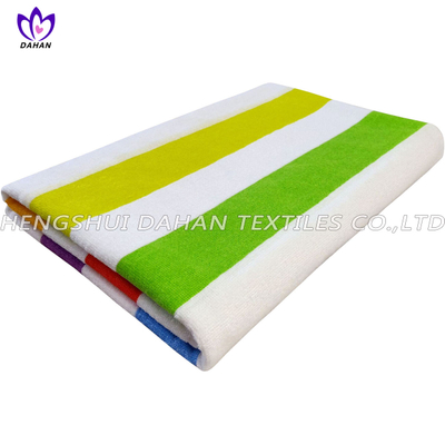 100%cotton color stripe bath towel. CT54