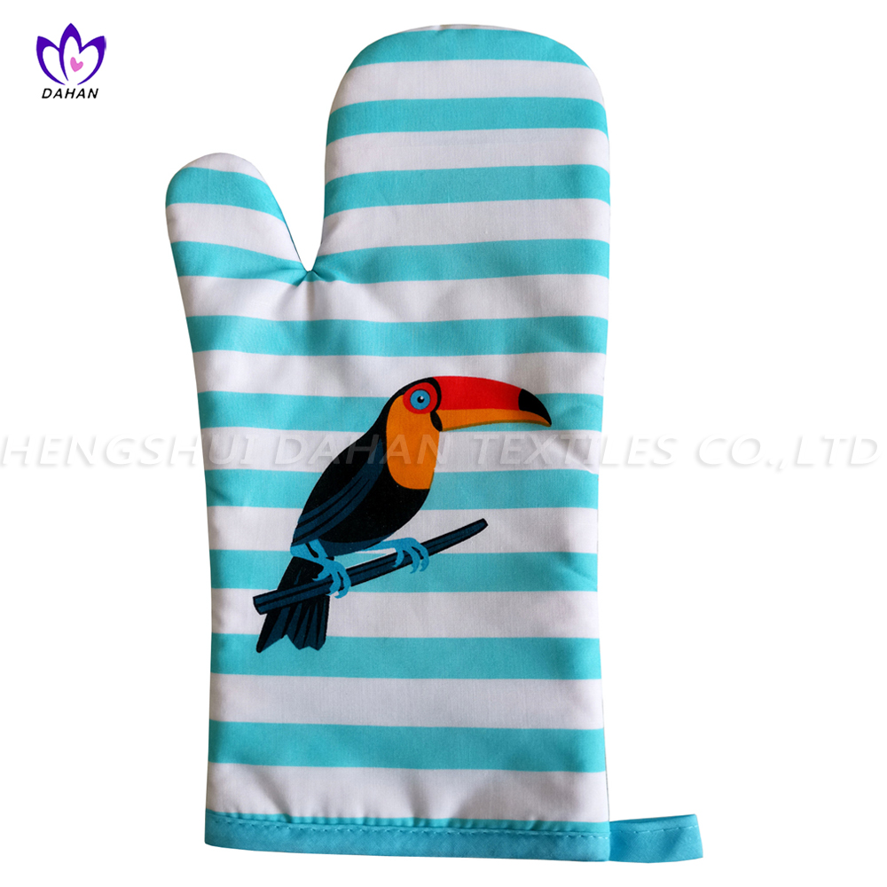 1034 4PK-Printing Apron+Glove+Pot holder+Microfiber towel.