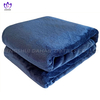 BK26 Solid color microfiber flannel blanket.