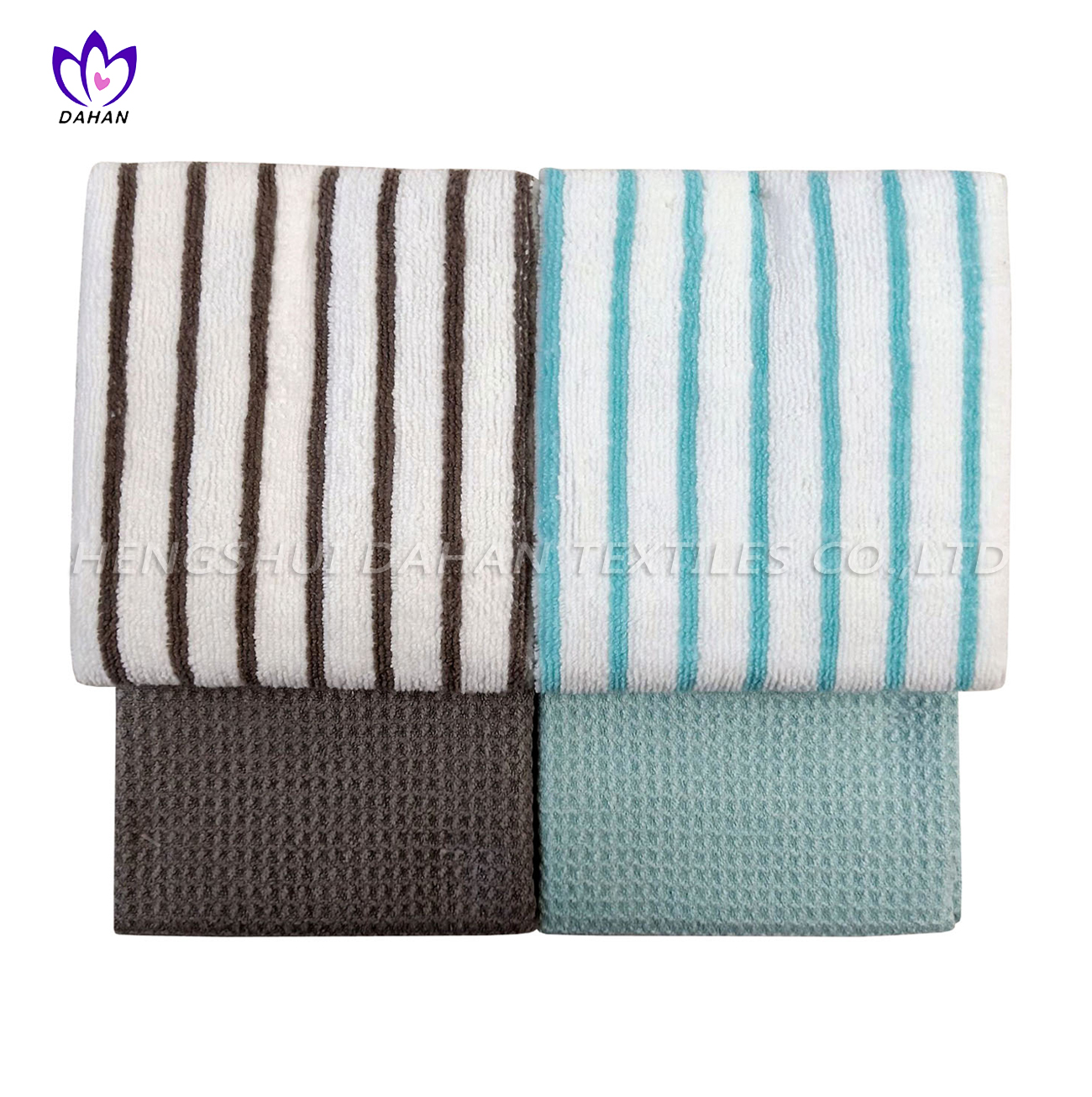 2807 Microfiber solid color/printing kitchen towel-3pack.