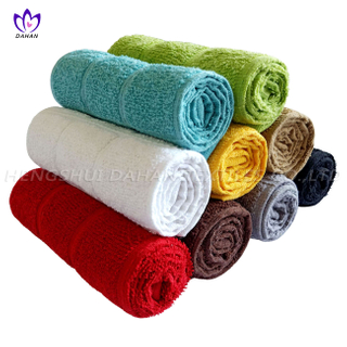 407CR Cotton colorful dish cloth, kitchen towel.